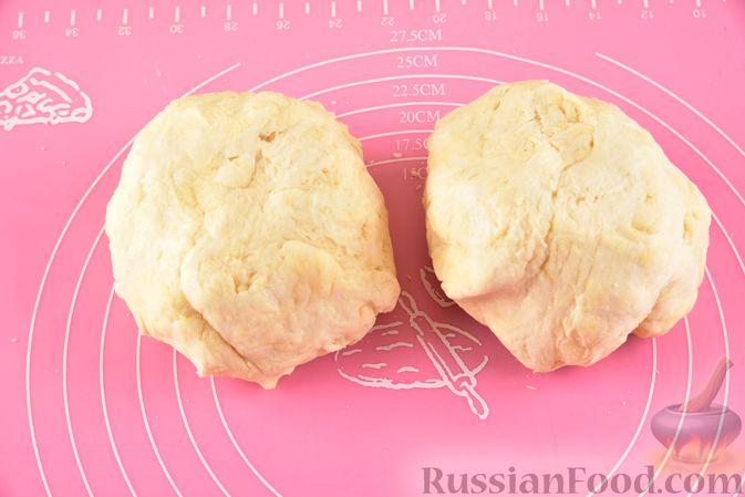Фото приготовления рецепта: Гата с ореховой начинкой - шаг №11