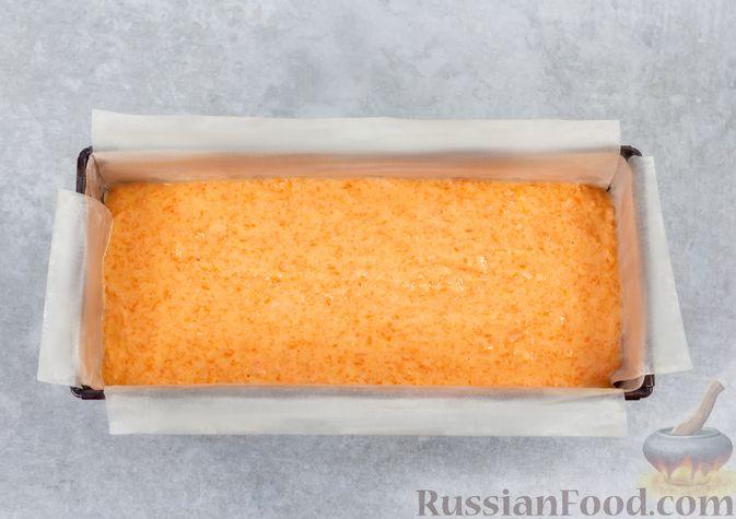 Фото приготовления рецепта: Морковный манник с рисовой мукой, на кефире - шаг №10