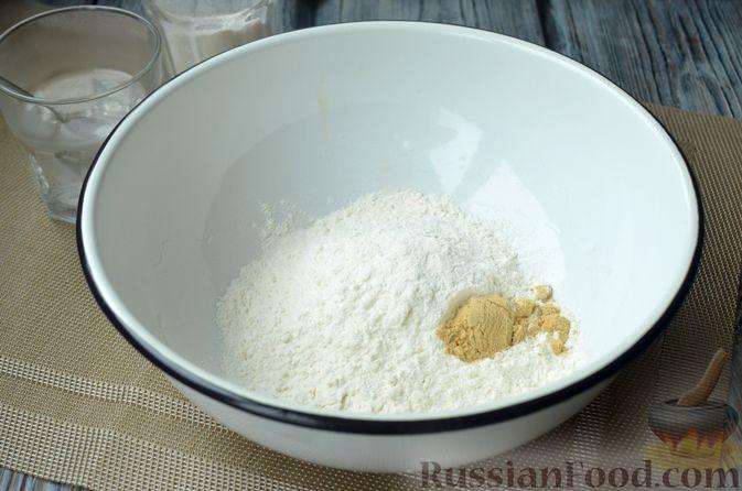 Фото приготовления рецепта: Горчичный хлеб - шаг №6