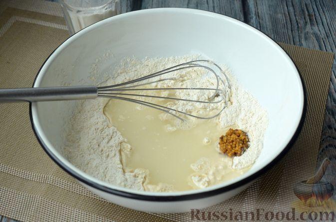 Фото приготовления рецепта: Горчичный хлеб - шаг №7