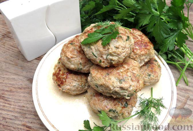 Фото к рецепту: Куриные зразы с консервированной фасолью