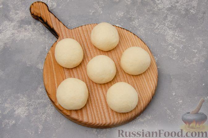Фото приготовления рецепта: Открытые булочки с заварным кремом - шаг №15