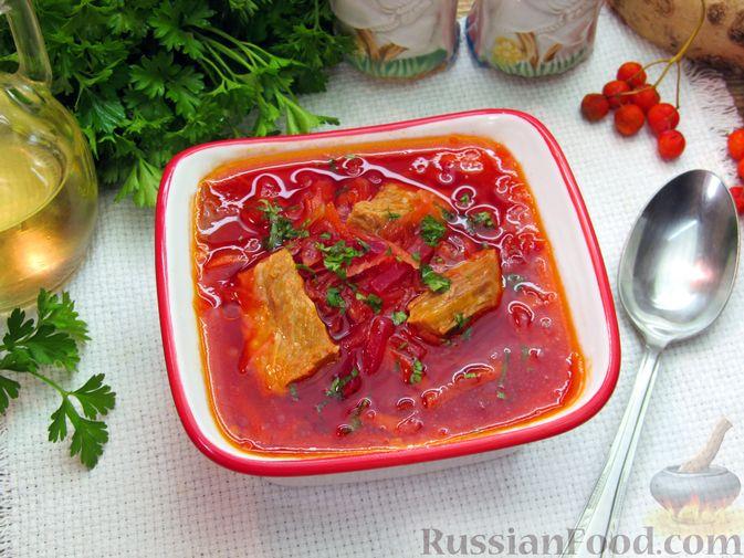 Фото к рецепту: Волынский борщ