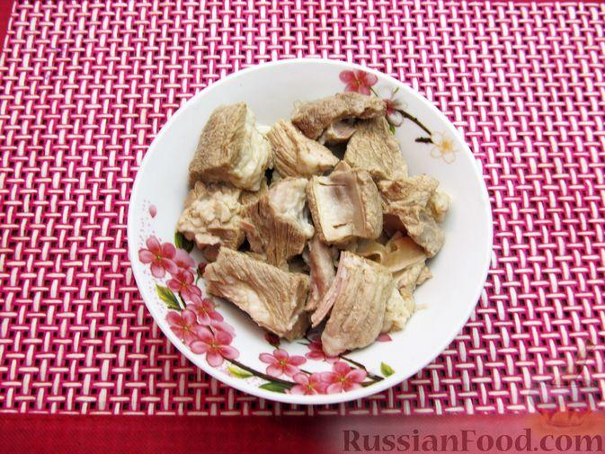 Фото приготовления рецепта: Волынский борщ - шаг №6