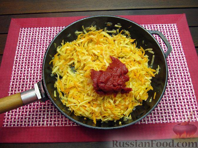 Фото приготовления рецепта: Волынский борщ - шаг №10