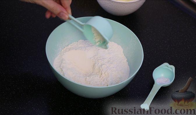 """Фото приготовления рецепта: Кекс с изюмом """"Столичный"""" - шаг №3"""