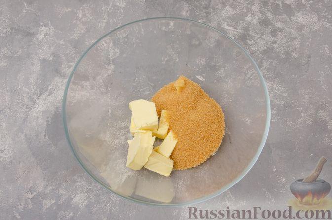 """Фото приготовления рецепта: Шоколадные пирожные """"Вупи пай"""" с сырно-сметанным кремом - шаг №4"""