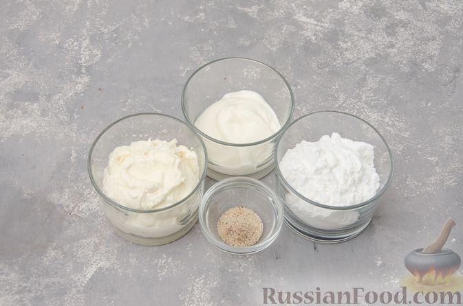 """Фото приготовления рецепта: Шоколадные пирожные """"Вупи пай"""" с сырно-сметанным кремом - шаг №12"""