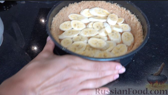 Фото приготовления рецепта: Баноффи-пай (десерт без выпечки) - шаг №2