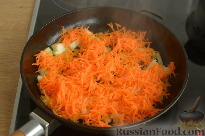 Фото приготовления рецепта: Куриный суп с картофельными ньокками - шаг №5