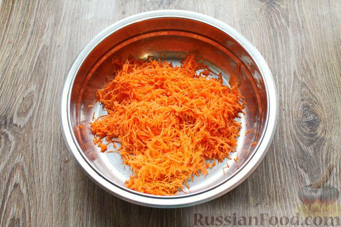 Фото приготовления рецепта: Рисовая запеканка с морковью - шаг №3