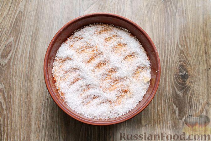 Фото приготовления рецепта: Рисовая запеканка с морковью - шаг №11