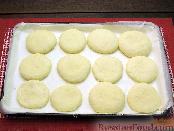 Фото приготовления рецепта: Мини-питы на молоке - шаг №10