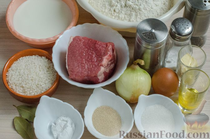 Фото приготовления рецепта: Вак бэлиш с говядиной и рисом - шаг №1