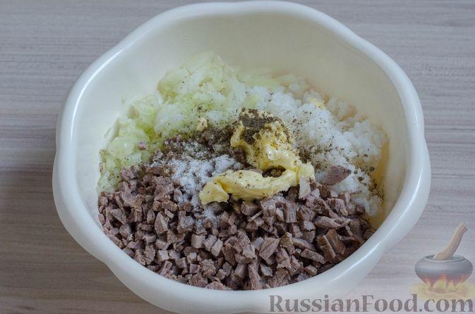 Фото приготовления рецепта: Вак бэлиш с говядиной и рисом - шаг №15