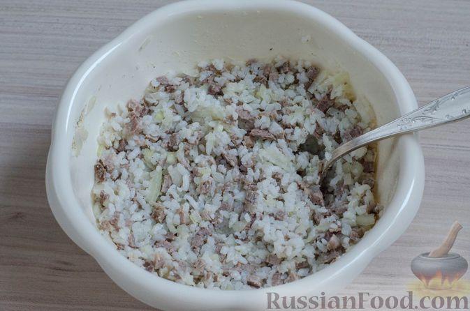 Фото приготовления рецепта: Вак бэлиш с говядиной и рисом - шаг №16