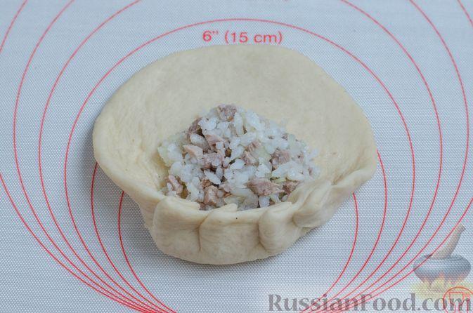 Фото приготовления рецепта: Вак бэлиш с говядиной и рисом - шаг №20