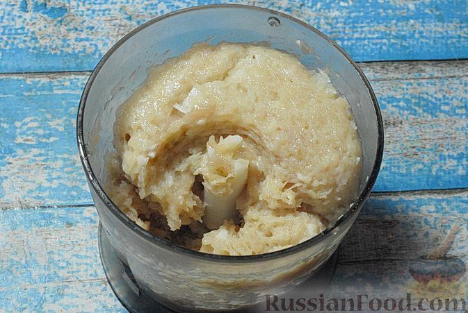 Фото приготовления рецепта: Солянка с копчёностями и куриными фрикадельками - шаг №3