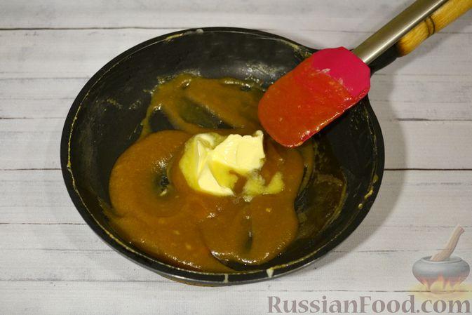 Фото приготовления рецепта: Рисовая каша со сливками и солёной карамелью - шаг №13