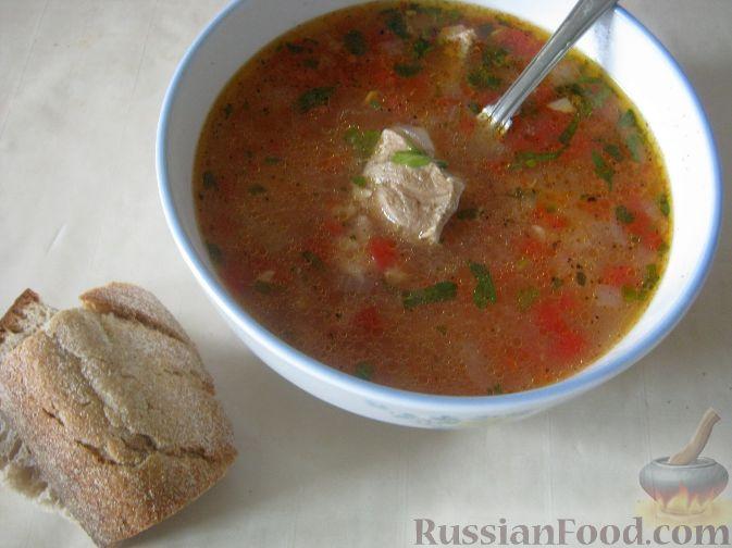 Рецепт Суп харчо из свинины
