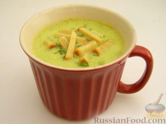Рецепт Пряный крем-суп из кабачков