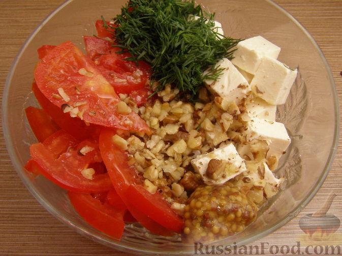 салат из брынзы фоторецепт