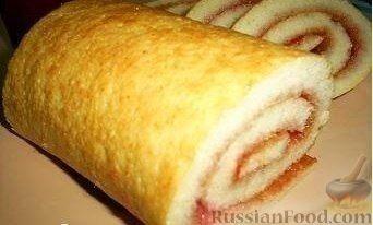Рецепт Рулет за 5 минут