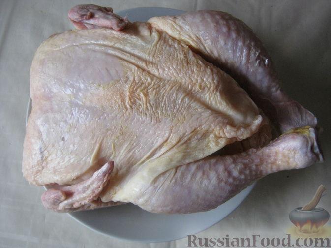 курица в духовке простой рецепт с майонезом