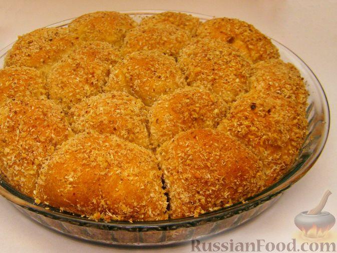 Рецепт Дрожжевой пирог с шоколадом