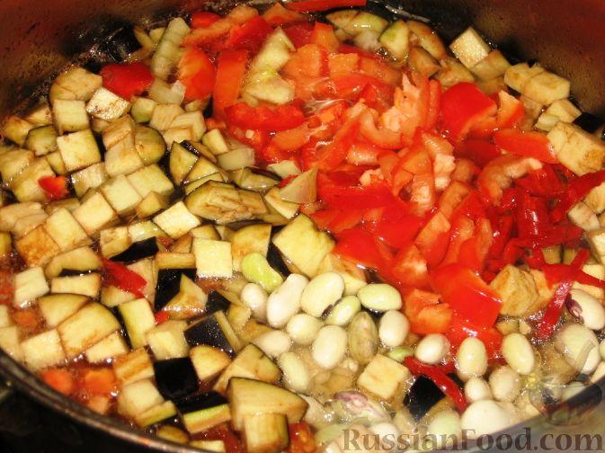 Фото приготовления рецепта: Бозбаши из баранины с овощами - шаг №4