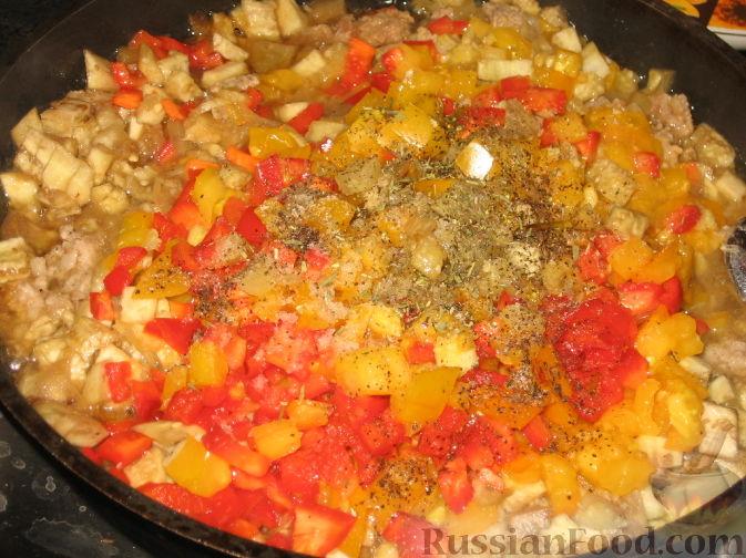 Лодочки из баклажан с фаршем в духовке рецепт с фото пошаговый