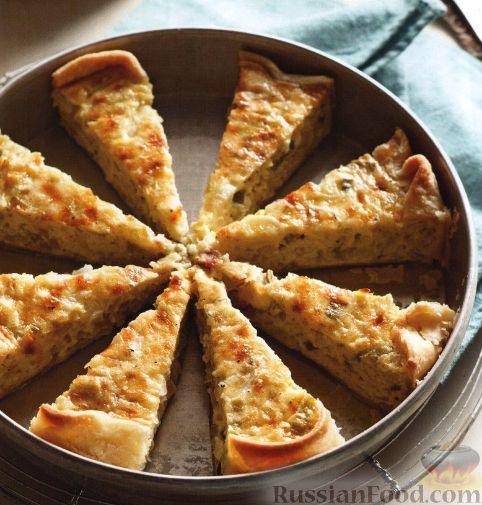 Рецепт Луковый пирог с сыром