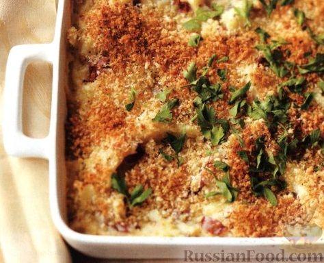 Рецепт Картофельная запеканка с сыром и травами