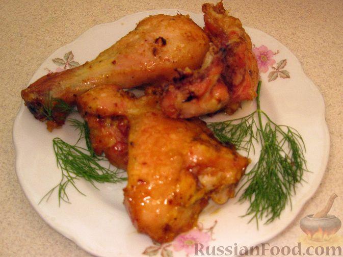 Рецепт Нежная курочка, запеченная в духовке