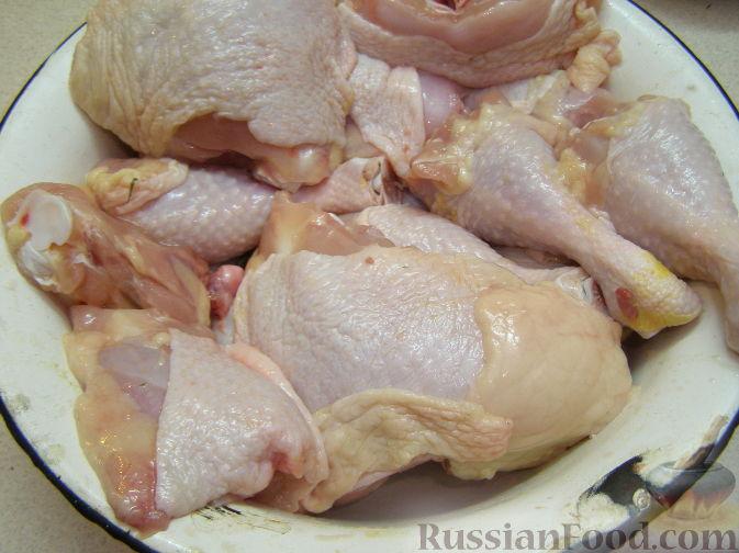 Куриные ножки в сметане в духовке рецепт