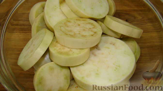 баклажаны кружочками с сыром в духовке рецепт