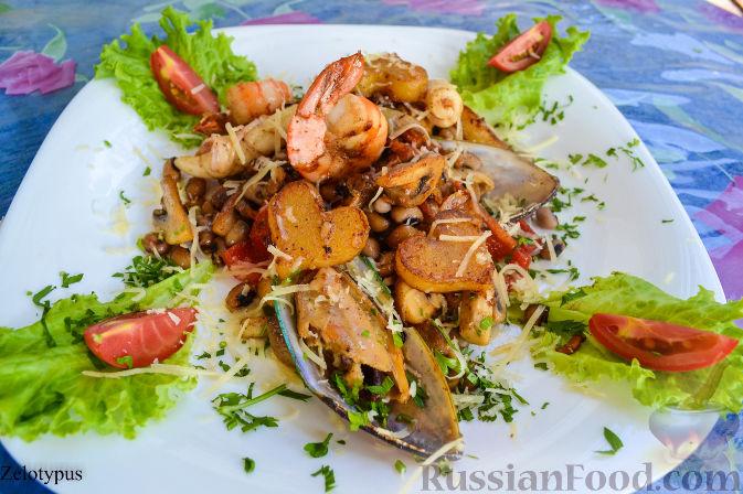 Рецепт Рагу с морепродуктами