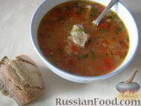 Фото к рецепту: Суп харчо из свинины