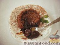 Фото к рецепту: Шоколадный фондан (Fondant au chocolat)