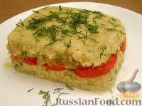 Фото к рецепту: Запеканка из картофельного пюре и помидоров