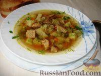 Фото к рецепту: Капустный суп с жареным мясом