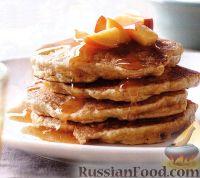 Фото к рецепту: Персиковые блины