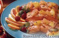 Фото к рецепту: Лосось на гриле с цитрусовой сальсой