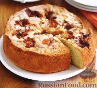 Фото к рецепту: Пирог с крыжовником и миндалем
