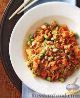 Фото к рецепту: Овощное рагу с рисом (в медленноварке)