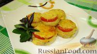 Фото к рецепту: Запеченные баклажаны с сыром и помидорами