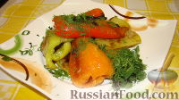 Фото к рецепту: Жареный перец