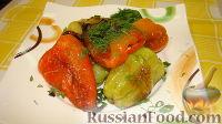 Фото приготовления рецепта: Жареный перец - шаг №4