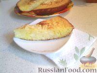 Фото к рецепту: Пирог с творожной начинкой