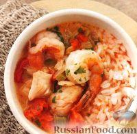 Фото к рецепту: Рагу из морепродуктов